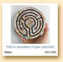 Path To Jerusalem Finger Labyrinth