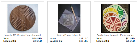 The Labyrinth Society: Online Auction