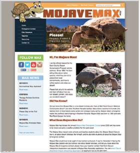 Mojave Max home page