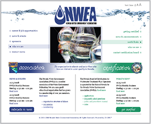 2008: nvwea.org home page