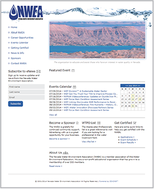 2014: nvwea.org home page