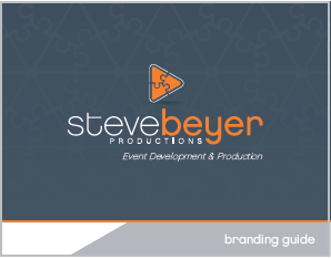 Steve Beyer Productions - Brand Guide - cover