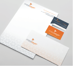 Steve Beyer Productions - Corporate Stationary Package