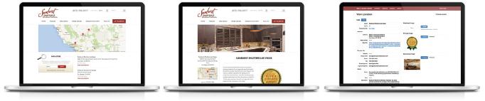 Sunburst Shutters - Store Locator Web App