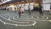 Handmade Labyrinth Walk