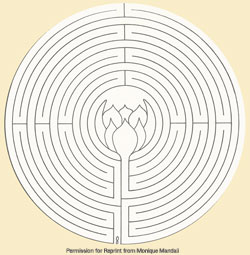 labyrinth coloring book monique meredetti color your walk