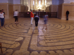 Chartres labyrinth. Beth Langley
