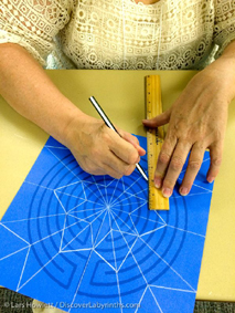 Karen Quinn Mandala workshop