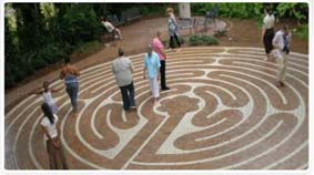 Duncan Center labyrinth
