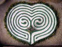 The Labyrinth Society: The Labyrinth Society: TLS Members e-Newsletter - A Heart Labyrinth Valentine's Day Project