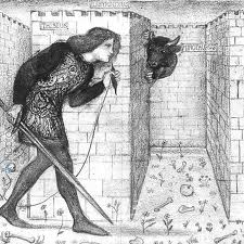 Burne-Jones. Theseus in the Labyrinth.1862