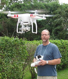 Warren and the Drone