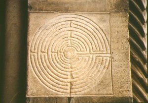 Medieval 11 Circuit Labyrinth Example