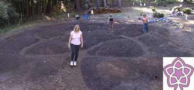 Vesica Pisces Motif Labyrinth Example 2