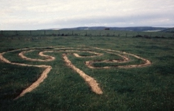 Seed Pattern to Labyrinth to Path Alone Image 1