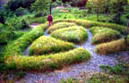 Vesica Pisces Motif Labyrinth Example 1