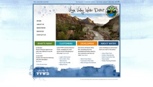 Virgin Valley Water District Website