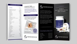 Cenegenics Nutraceutical Brochure