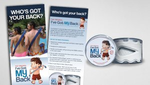 I've Got My Back Identity & Print Materials