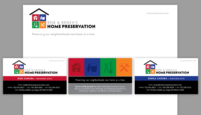 Rob & Renea's Home Preservation Identity Package