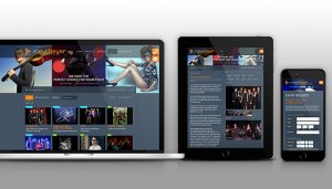 Steve Beyer Productions Talent Showcase Web App