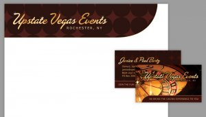 Upstate Vegas Events Identity Package