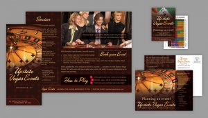 Upstate Vegas Events Print Materials