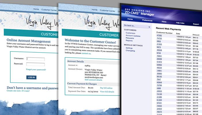 Virgin Valley Water District Customer Center