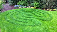Temporary Labyrinth