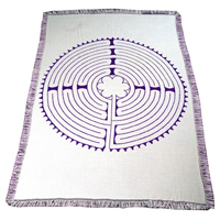 Relax4Life Reversible Labyrinth Blankets